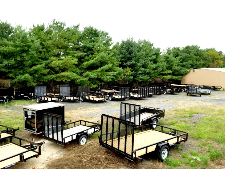Huge Inventory of Trailers in Woodbine Maryland