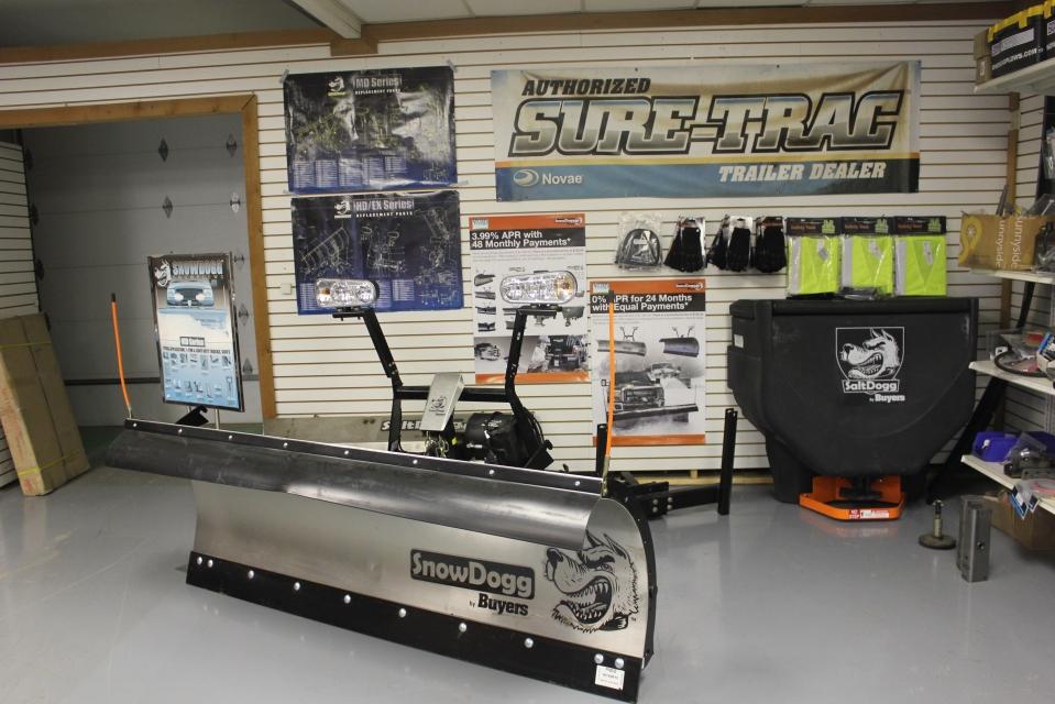 Sure-Trac parts SnowDogg Plow Spreader